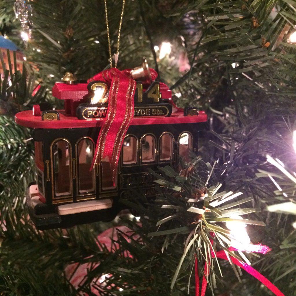 San Francisco Christmas Ornament