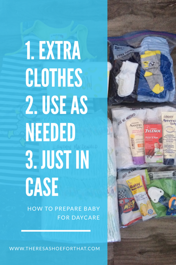 how to prepare baby for daycare