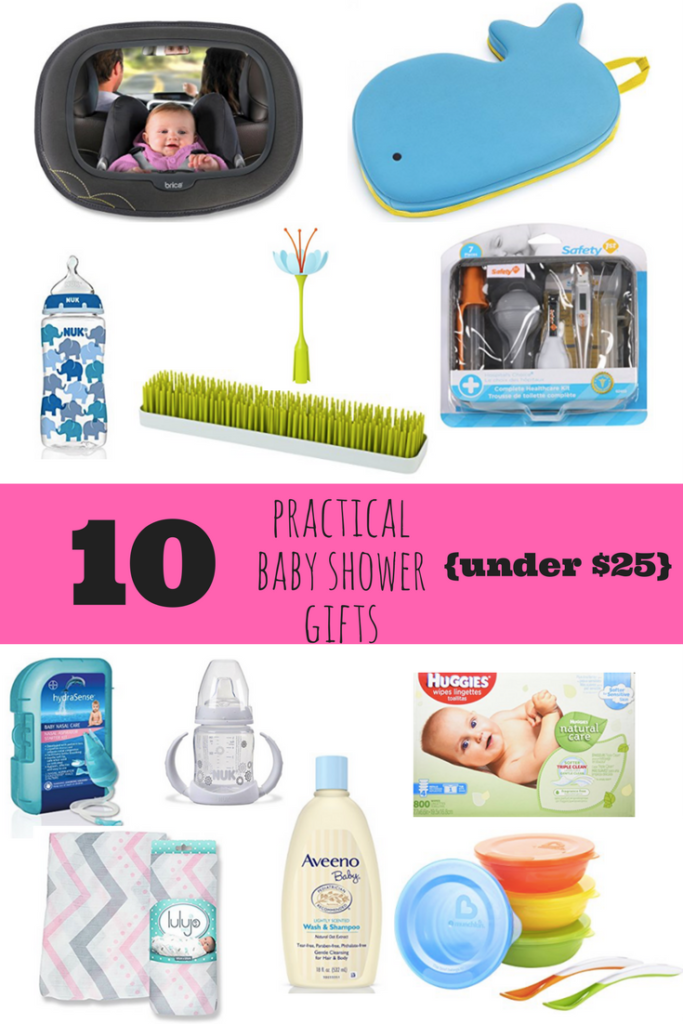 10 Practical Baby Shower Gifts Under $25