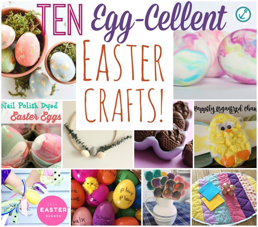 EGG-squisite Easter Flowers - Easter Egg Crafts for Babies