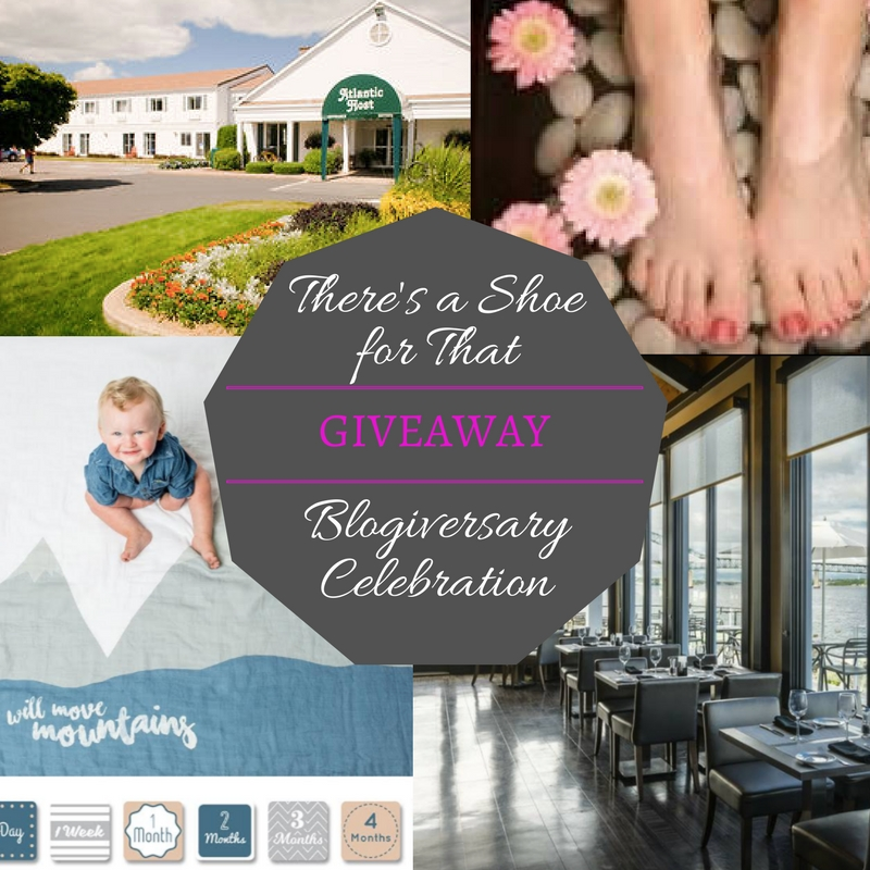 Blogiversary Celebration {There's a Shoe for That turns 1!}