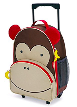 toddler rolling suit case