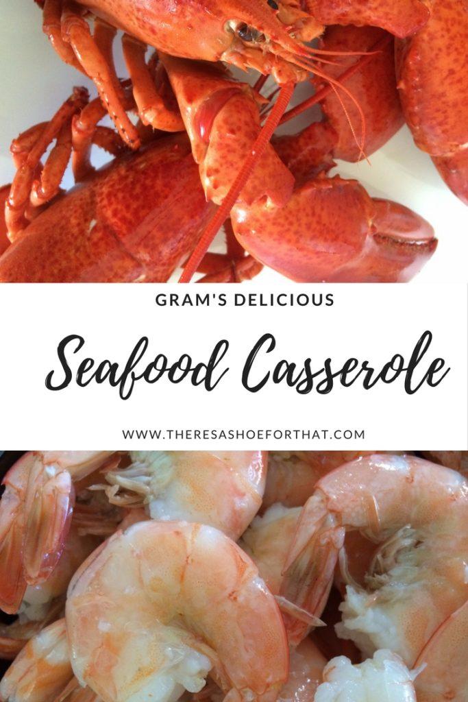 seafood casserole pinterest image