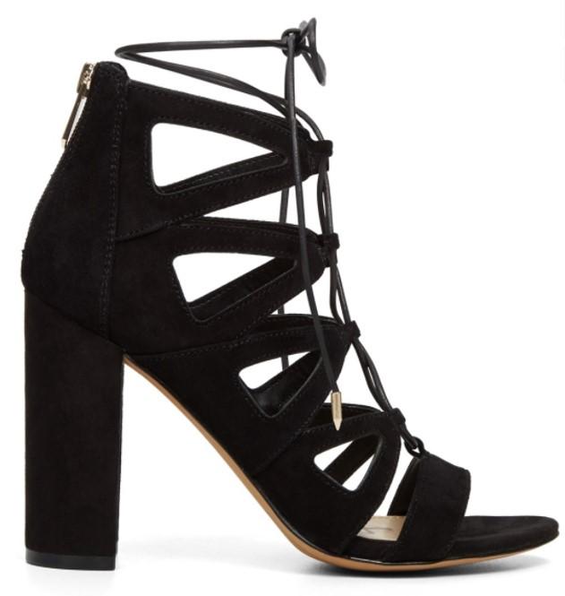 Yona Black Sandal