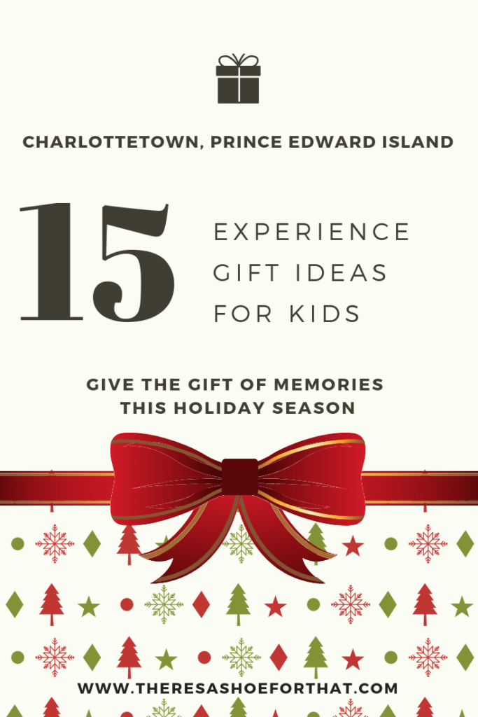 experiences in charlottetown for kids