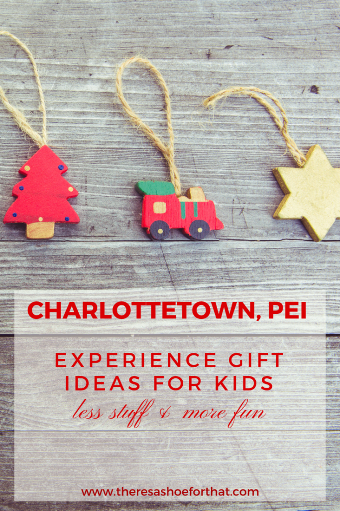 charlottetown gift ideas for kids