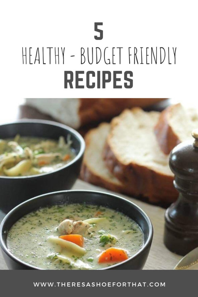 5 Budget Friendly and Healthy Make Ahead Meals perfect for busy families, new moms and those looking to be prepared for the week ahead. #healthyrecipes #budgetfriendlyrecipes #organizedmoms
