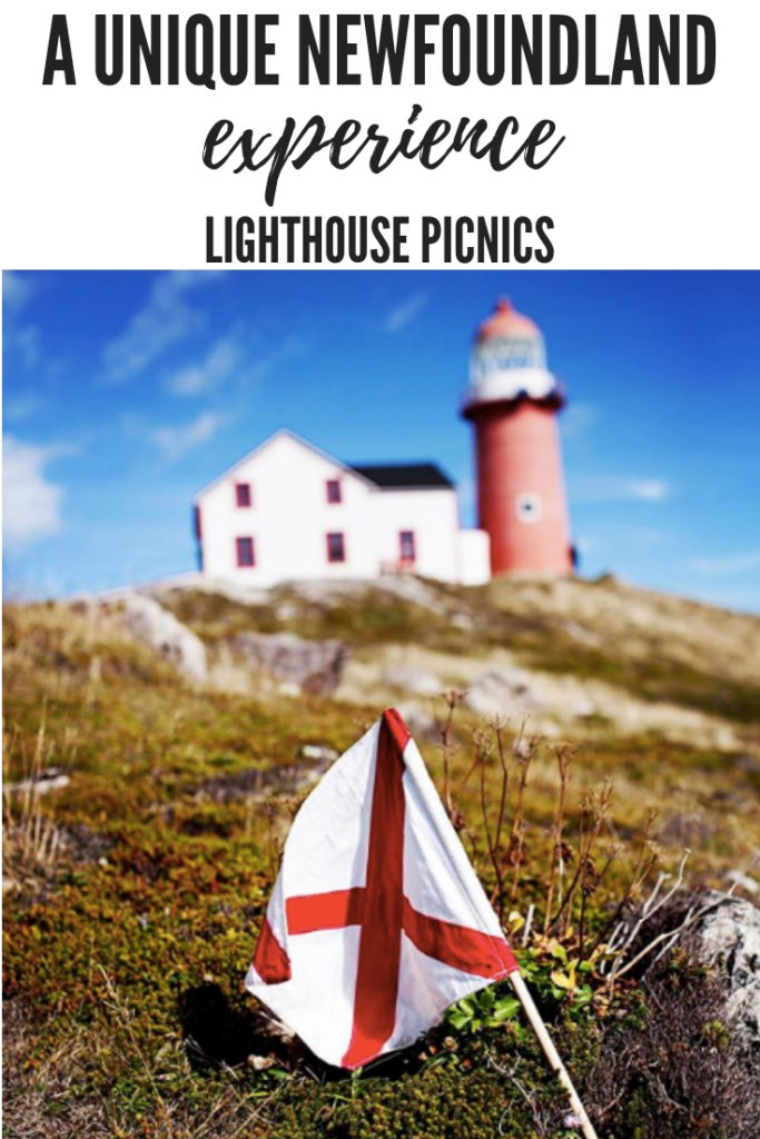 A unique lunch experience along the coast of the Atlantic Ocean in Newfoundland and Labrador. Perfect for a romantic getaway, family day out or experiencing nature at its finest. Lighthouse picnics will not disappoint. #travel #explorecanada #lighthouse
