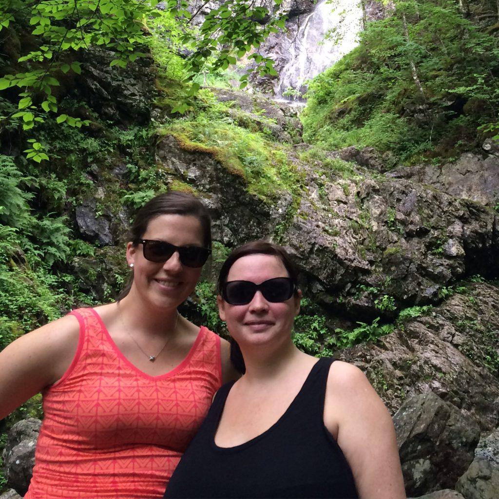 Uisge Ban Falls Hike in Baddeck, NS
