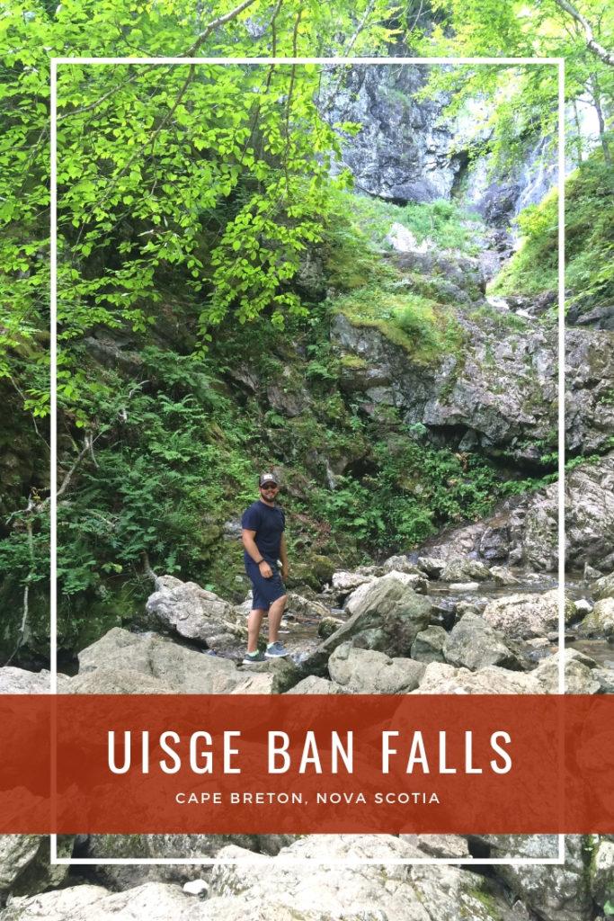 Uisge Ban Falls Cape Breton Nova Scotia