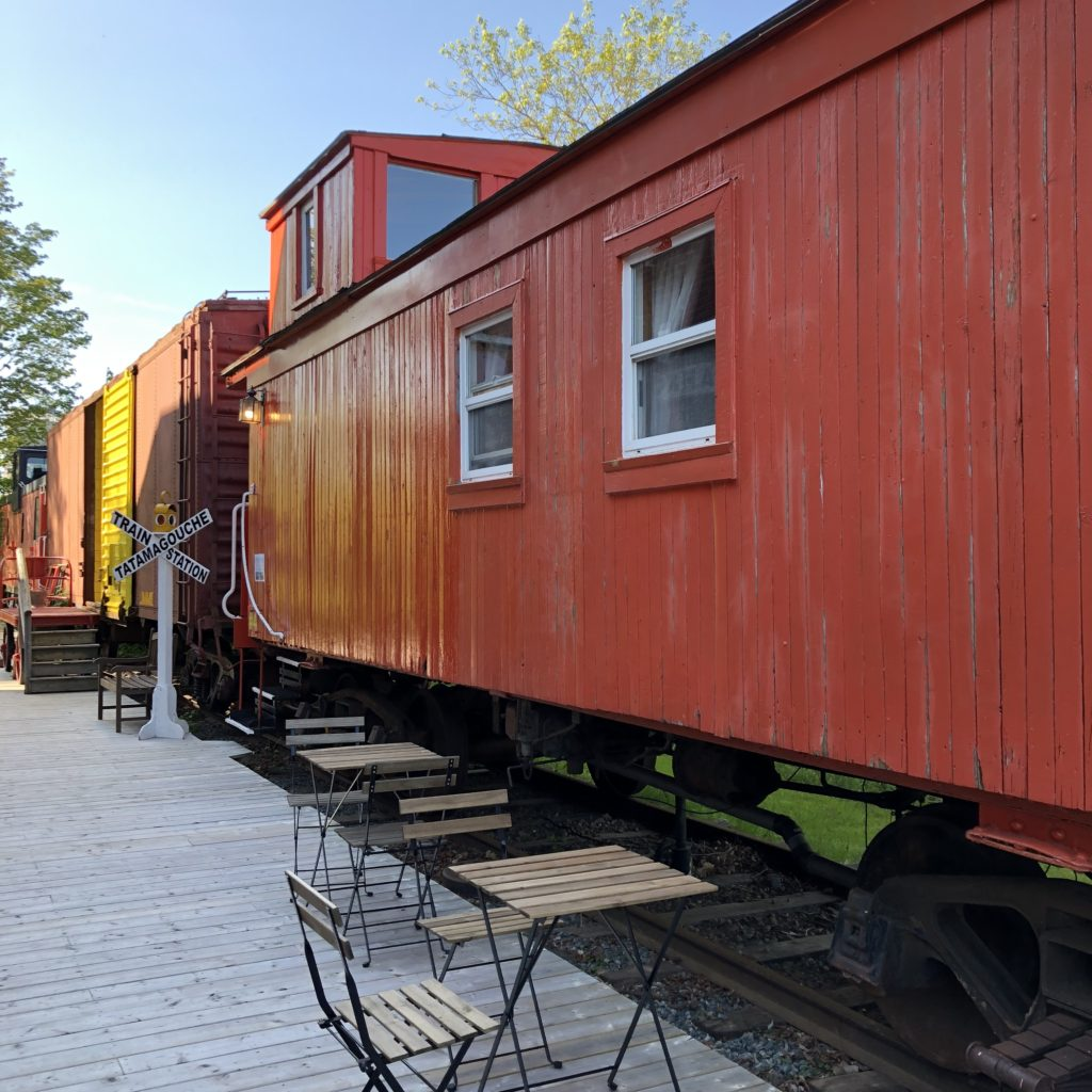 Caboose #4 at the Train Station Inn