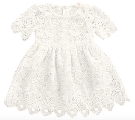 flower Lace Dress for Baby Girl