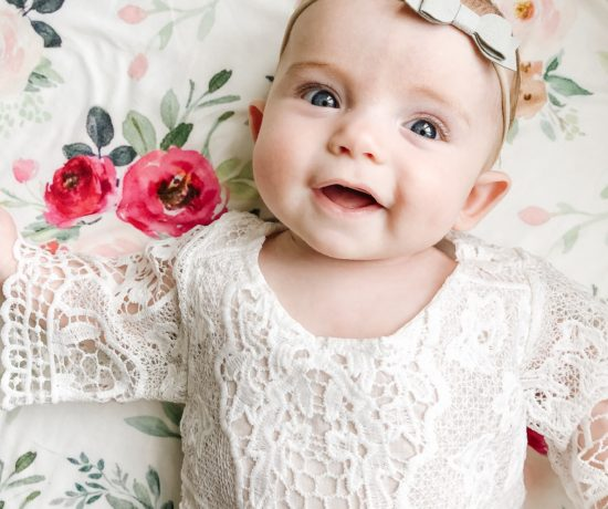 white outfits for baby girl