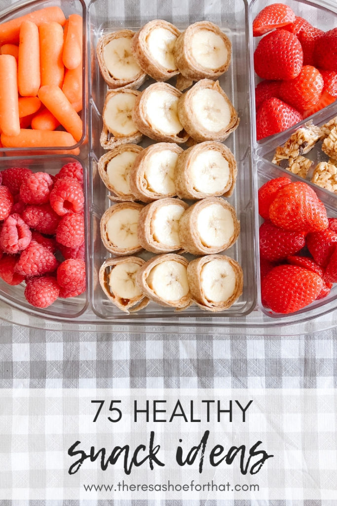 75 Healthy Snack Ideas
