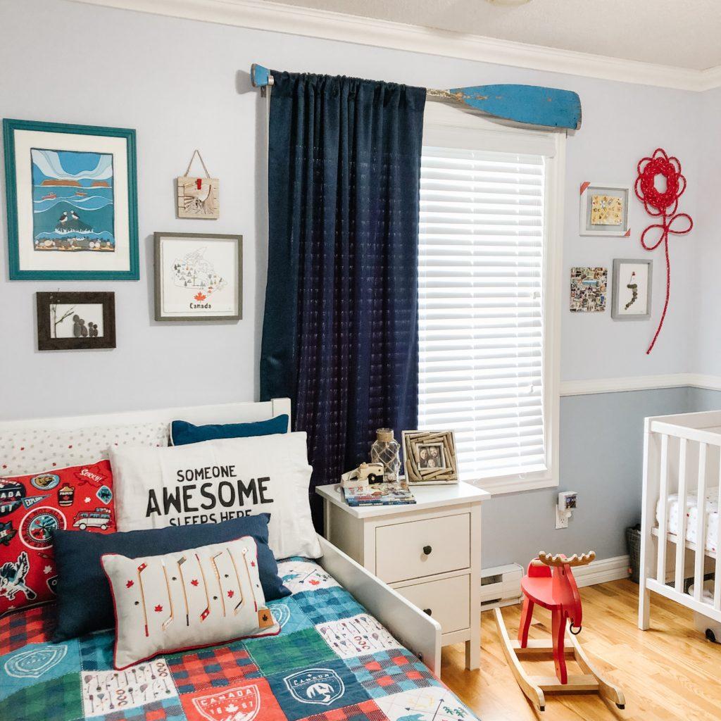 Canada theme child bedroom