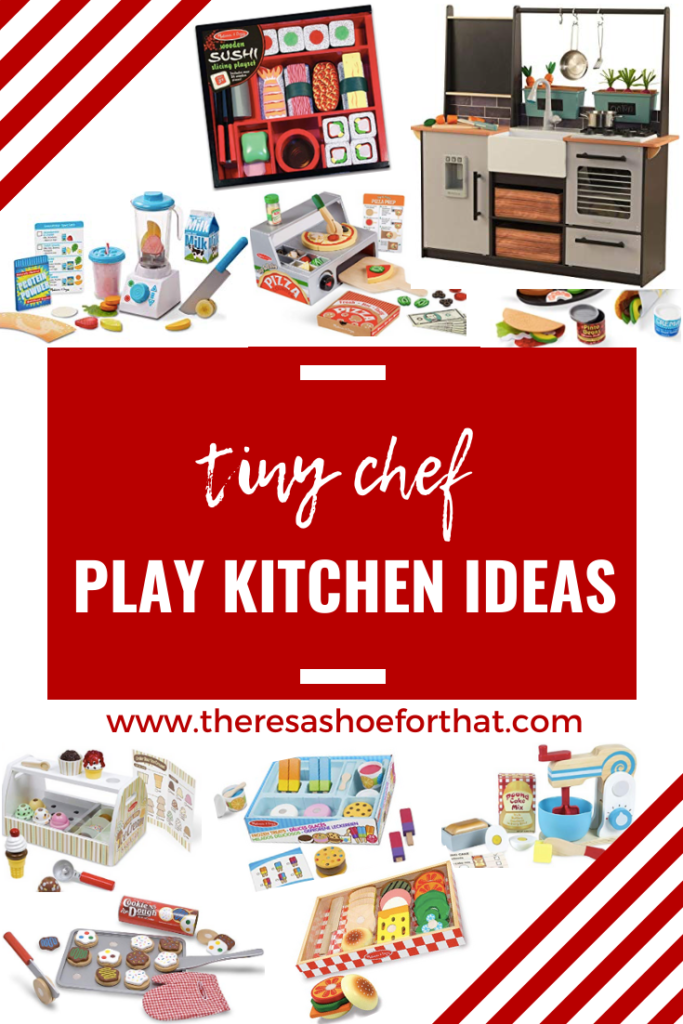 play kitchen accessory ideas perfect for babies, toddlers and preschoolers