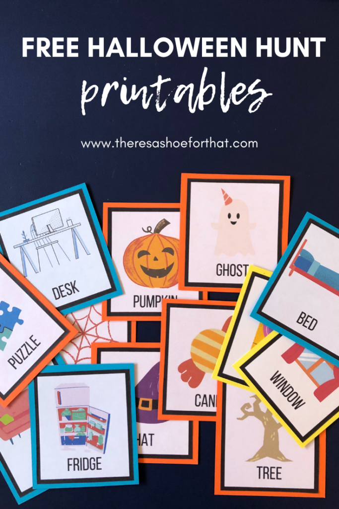 free halloween hunt printables